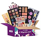 UCANBE Makeup Surprise Mystery Box Gift Set - Exclusive All in One Makeup Set - Include Eyeshadow Palette,Lipstick,Foundation,Highlighters, Eyebrow,Make Up Brush Set, and Much More - COLORS VARIES