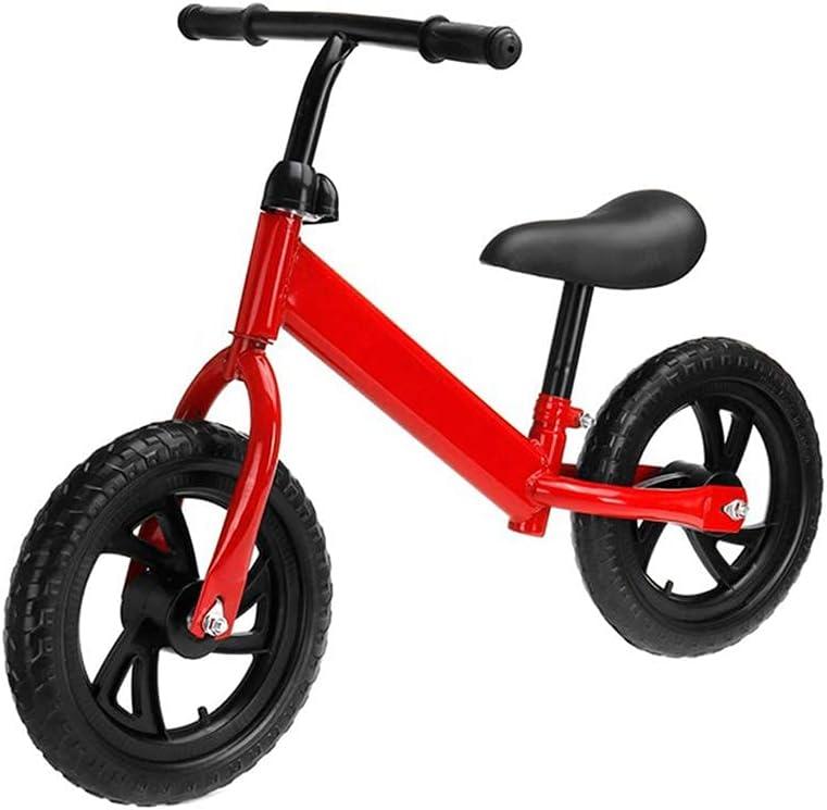 Bicicleta de entrenamiento para niños pequeños Bicicletas de equilibrio para niños, diseño deslizante inercial, liviano - Bicicletas de empuje de colores ultra fríos para niños pequeños / bicicleta si
