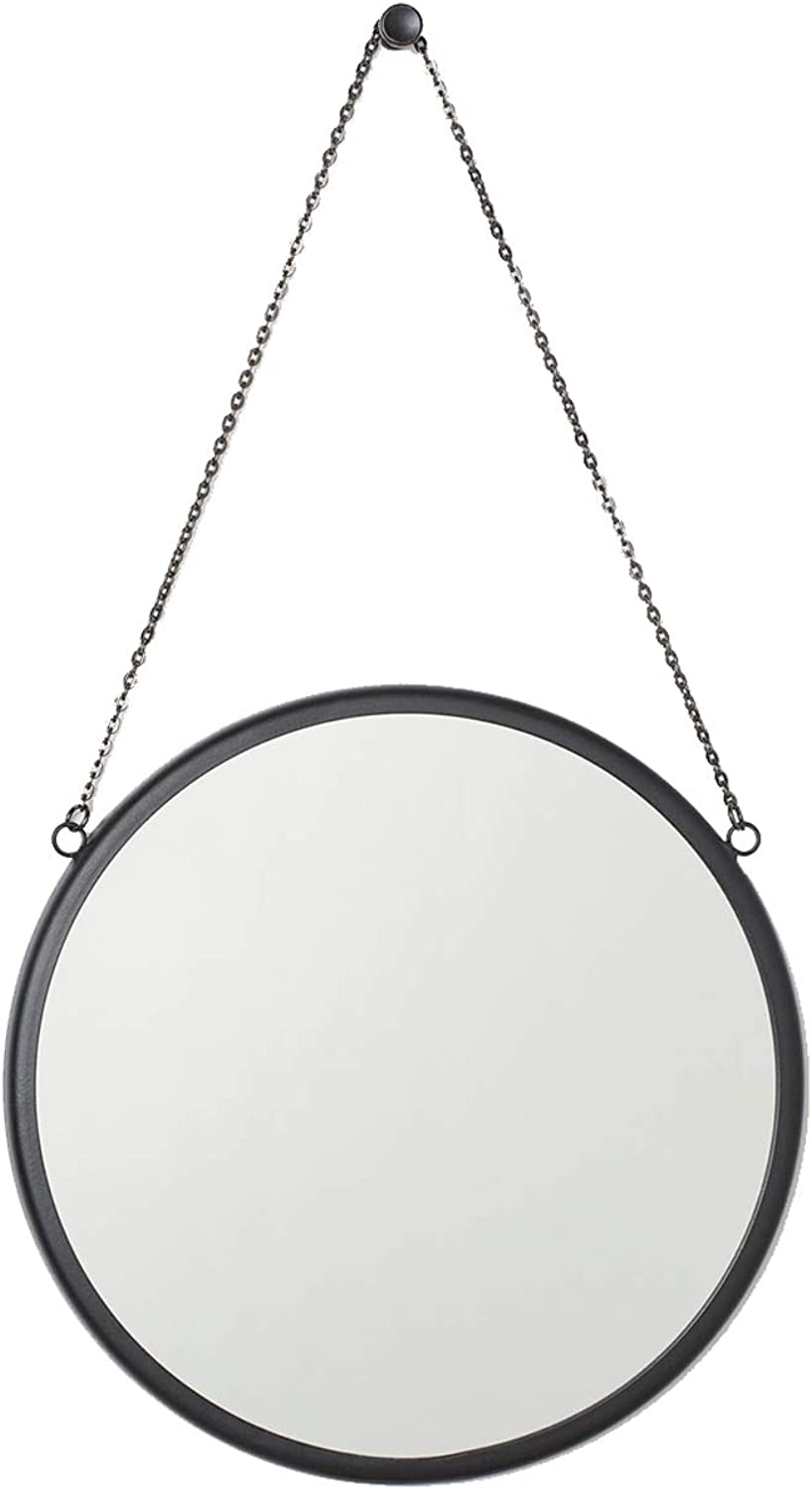 Round Wall Decorative Mirrors golden 7.9″ Wall Hanging HD Mirror Vanity Make Up Mirror for Home Decor