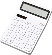 $46 » WZWHJ Computer Calculator Mini Desktop Electronic Portable Calculator 12 Digital LCD Display Automatic Shutdown for Office...