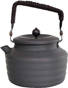 Alocs Camping Kettle 1.3L,Portable Tea Kettle Outdoor Hiking Picnic Water Kettle Lightweight Teapot Coffee Pot…