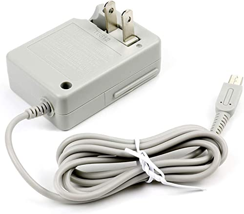 3DS Charger, AC Adapter Charger Home Travel Charger Wall Plug Power Adapter (100-240 v) for Nintendo New 3DS XL New 3...