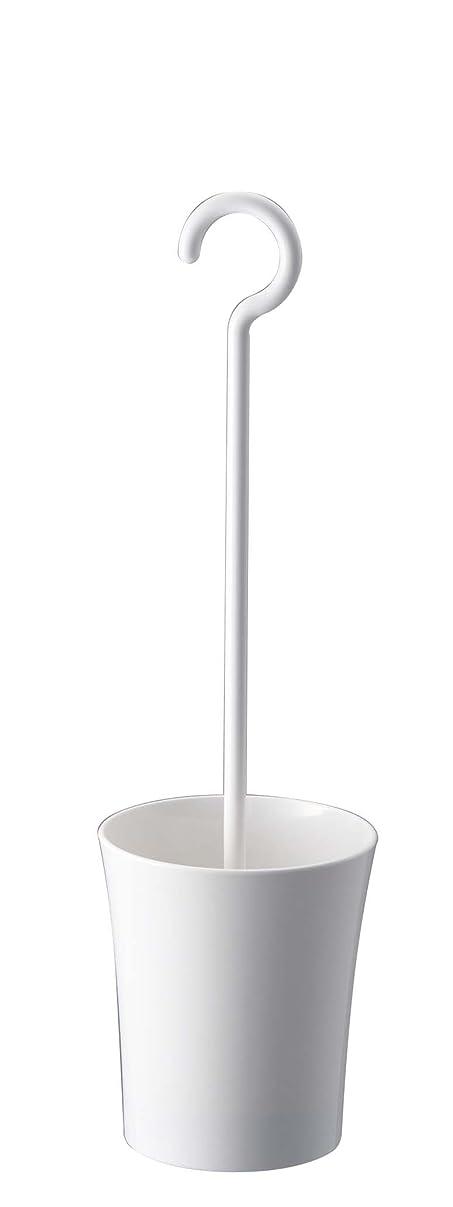 母性肘掛け椅子暴露する山崎実業 キッチンフック クローシェ S ホワイト 7296