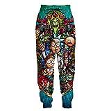 YX GIRL Hoodies Lisa Frank Novelty Unisex 3D Printed Hoodie Drawstring Pockets Sweatshirts (R-MP1, XXL/3XL)