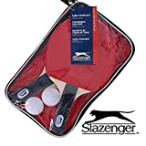 Slazenger Table Tennis Set with 2 Bats,2 Balls & Bag