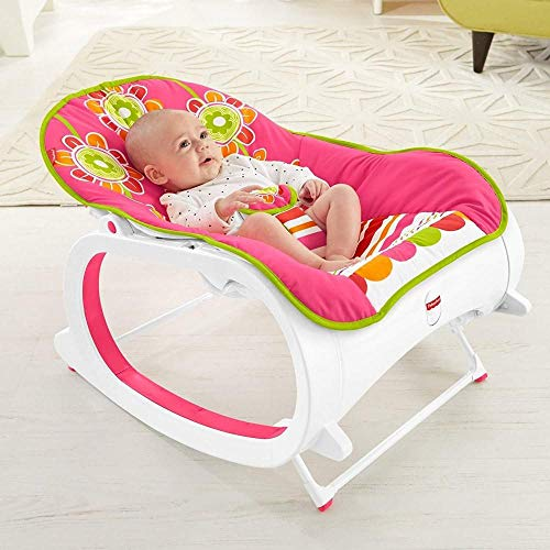 Best Bargain Baby Rocker Infant to Toddler Rocking Newborn Crib Chair Girl Boy Swing Seat Can Be Use...