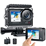 Action Cam 4K 30FPS/240MP Impermeabile Videocamera WIFI...