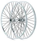 Rodi VTT RL - Rueda doble trasera para bicicleta, color plateado, 1 unidad