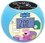 Lexibook - Despertador Digital, Azul (Peppa Pig) , color/modelo surtido