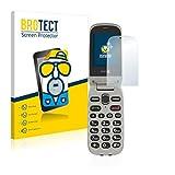 brotect 2X Entspiegelungs-Schutzfolie kompatibel mit Doro PhoneEasy 632 Bildschirmschutz-Folie Matt, Anti-Reflex, Anti-Fingerprint