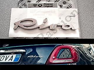 /51881058 Fiat Punto Abarth scritta modello segno posteriori/ logo originale