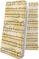 AQUOS Xx 304SH ケース 手帳型 女の子 女子 女性 レディース 楽譜 譜面 アクオス デザイン イラスト AQUOSXx 楽器 音楽 音符 11519-5ghdfa-10000931-AQUOSXx