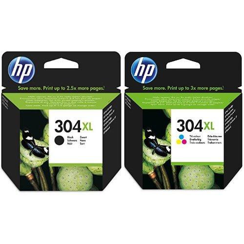 HP 304XL Farbe Schwarz Original Druckerpatrone mit hoher Reichweite fur HP Deskjet