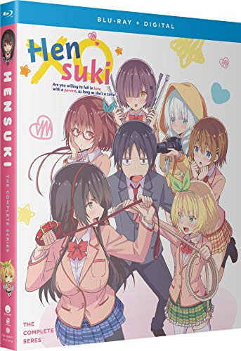Hensuki: Are You Willing to Fall in Love with a Pervert, as Long as She's a Cutie? - The Complete Series [Blu-ray]