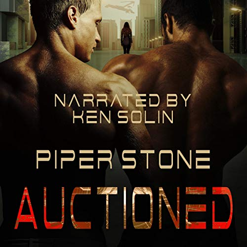 Auctioned audiobook cover art