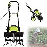 Best Garden Tillers - Electric Tiller Cultivator Rotavator, 1500W Powerful Garden Soil Review