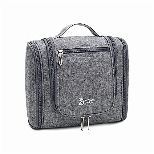 duoying Bolsa de aseo de viaje para colgar, bolsa de aseo de viaje, impermeable, organizador de cosméticos, para viajes de negocios, gimnasio, vacaciones y hogar