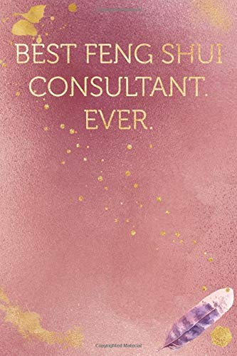 Best Feng Shui Consultant. Ever.: Funny Office Humor Notebook And Journal Gifts for Coworker / Lady Boss / Mom. All Journals Page Come With An ... (Girly Rose Gold Color) (Funny Coworker Book)
