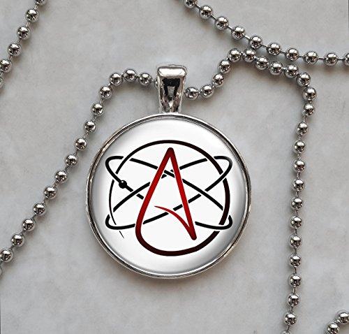 Atheist Molecule Pendant Necklace