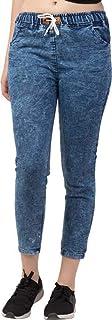 Rafflesia Tolpis Jogger Fit Women Dark Blue Jeans