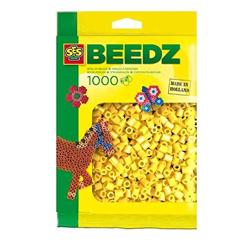 SES Creative - 00701 - Perles À Repasser - 1000 Pièces - Jaune
