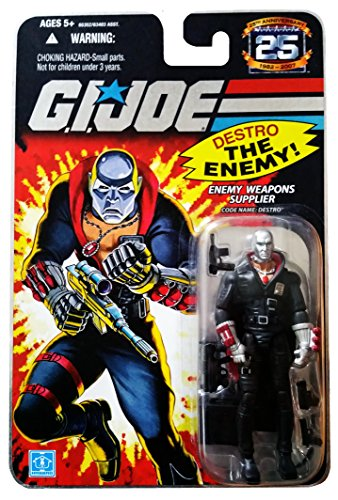 G.I. Joe 25th Anniversary: Destro (Cobra Enemy Weapons Supplier) 3.75 Inch Action Figure