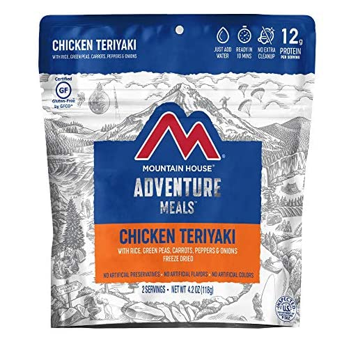 Mountain House Chicken Teriyaki with Rice | Freeze Dried Backpacking & Camping Food | Gluten-Free 3