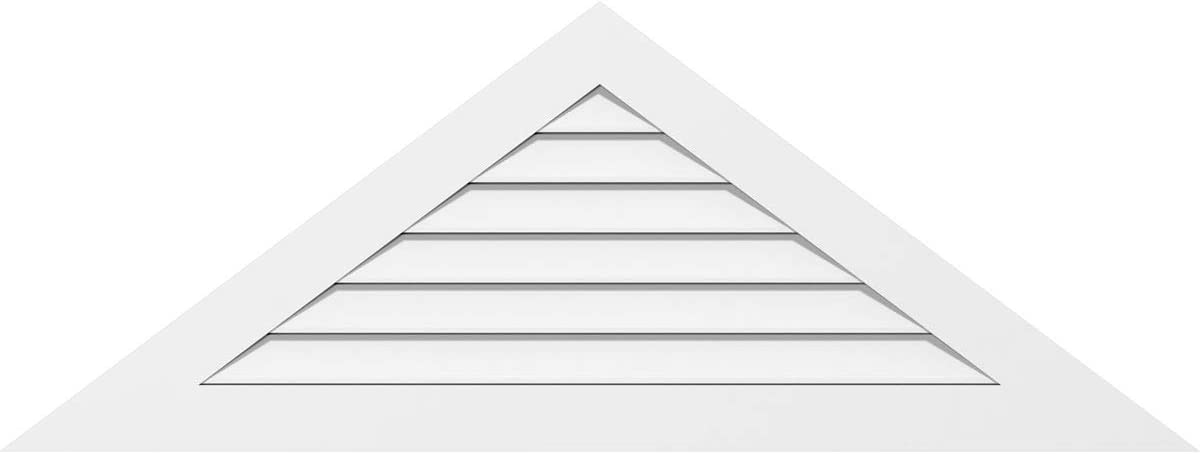 Ekena Millwork GVPTR40X1501SF Triangle Surface Gable Selling and selling PVC V Al sold out. Mount