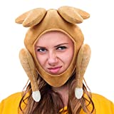 Amor Thanksgiving Turkey Hat,Thanksgiving Funny Party Hat for Thanksgiving and Halloween Costume Dress Up Party