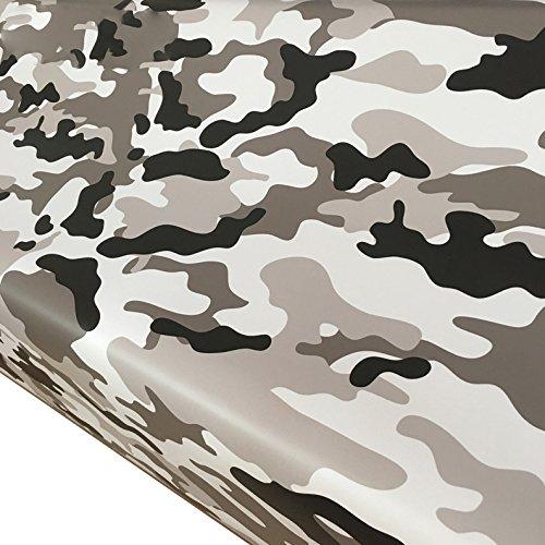 ECYC Etiqueta Engomada Superior De La PelíCula del Camuflaje 15 Clases para La DecoracióN De La Motocicleta De La Vespa del Coche, 152 * 30cm