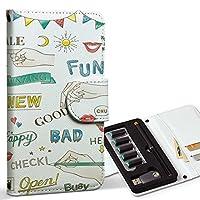 スマコレ ploom TECH プルームテック 専用 レザーケース 手帳型 タバコ ケース カバー 合皮 ケース カバー 収納 プルームケース デザイン 革 英語 フラッグ カラフル 014743