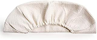 Snuggle Me Organic | Puddle Pad | Elastic Fitted Organic Cotton Moisture Barrier | Patented Sensory Lounger for Baby
