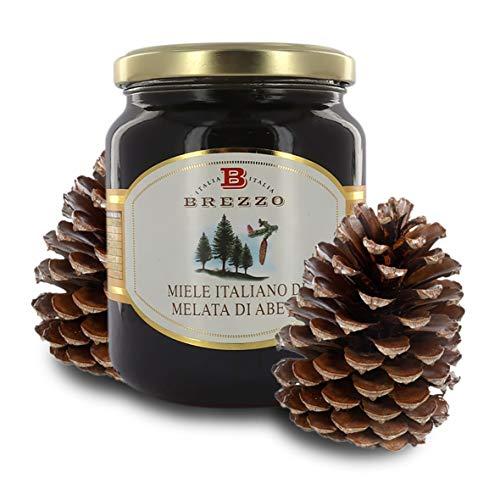 Brezzo Miele Italiano - Melata di Abete, 500 Grammi