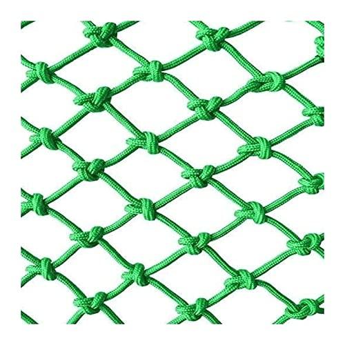 Lanrui Malla Red de Escalada Net Green Safety Net, Balcony Red Red Stair Red Resistente a la Rotura, Decoración de jardín al Aire Libre Neto, Decoración de jardín Net Múltiples tamaños Red Balcon