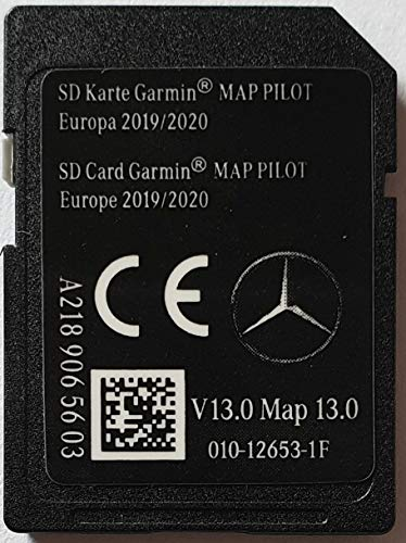 SD-kaart GPS Mercedes Garmin MAP Pilot Europe 2019-2020 - STAR1 - v13 - A2189065603