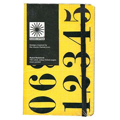 Eames-Eames Carnet A6 chiffres Hoc