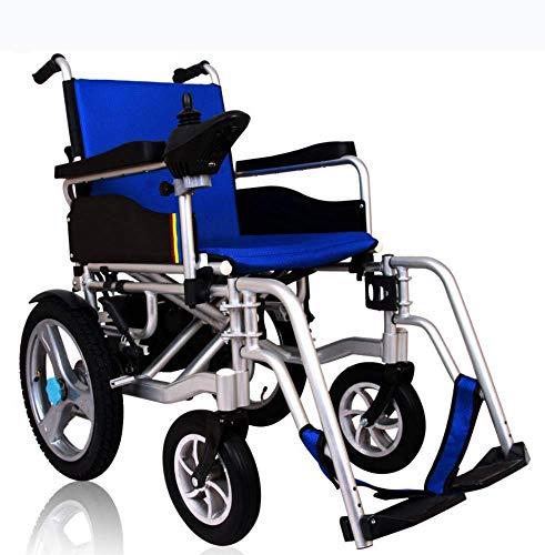 Oudere mensen met een handicap 2019 vouwen; inklapbare elektrische reisrolstoel van de premium klasse, door de vlieglijn toegelaten lichte all-terrain-elektrische scooter met twee motoren voor A