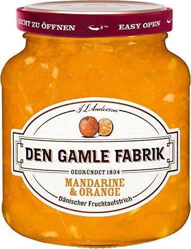 Den Gamle - Mandarine & Orange Fruchtaufstrich Marmelade Konfitüre Aufstrich - 380g
