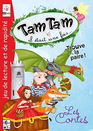 Tamtam, il était une fois les contes : Jeu de lecture et de rapidité