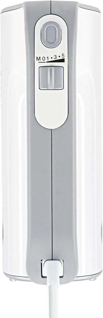 Bosch MFQ40303 Styline Batidora y Amasadora, 500 W, color rojo Blanco/Gris