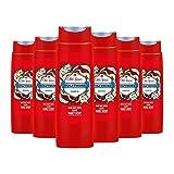 Old Spice Wolfthorn Duschgel, für Männer, 6er Pack (6 x 250 ml), Mit Langanhaltendem Duft