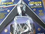 BLACK STEALTH MIRROR MOUNT MOBILE WING TV ANTENNA ADAPTER FOR CB RADIO HOOK-UP