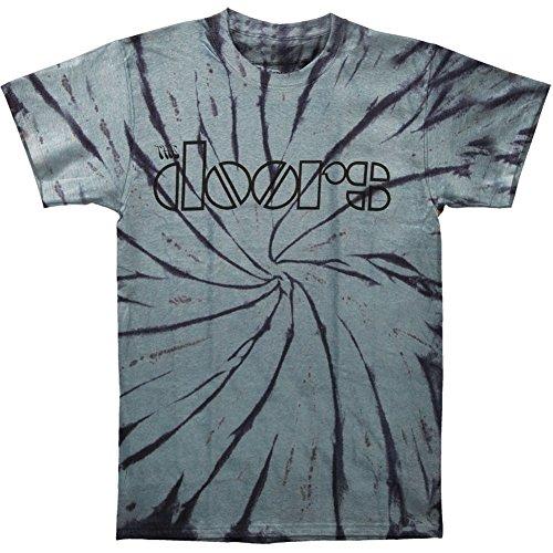 Doors Men's Classic Logo Tie Dye T-shirt X-Large Tie-Dyed