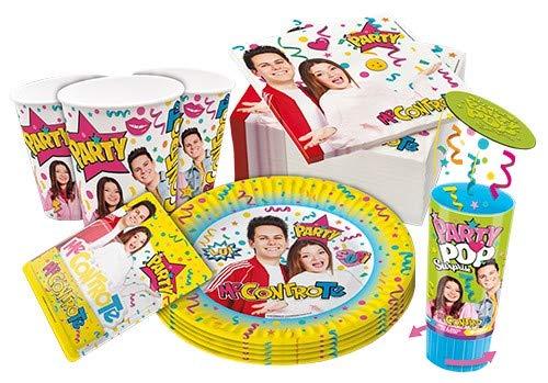 Zeus Party Kit per Feste E Compleanno- Me Contro Te -Coordinato TAVOLA Feste ADDOBBI