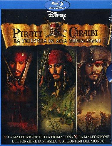 Pirati dei Caraibi (Cofanetto 6 dischi Blu-ray)