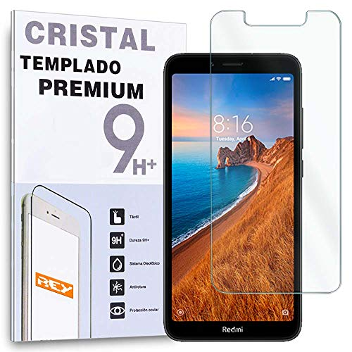 Protector de Pantalla para XIOAMI REDMI 7A, Cristal Vidrio Templado Premium