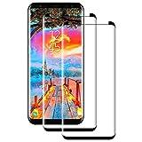 POOPHUNS 2 Stück Panzerglas Schutzfolie kompatibel mit Samsung Galaxy S8, Gehärtetes Glas Displayschutzfolie mit 9H Härte, Displayschutz Folie für S8,HD Ultra Klar, Anti-Kratzen, Anti-Öl