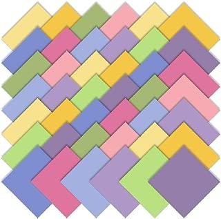 Moda Basics Bella Solids 30's Colors Charm Pack, Set of 42 5-inch (12.7cm) Precut Cotton Fabric Squares
