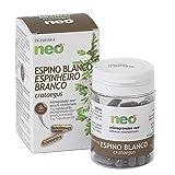 NEO | Extracto Seco de Hojas y Flores de Espino Blanco 200 mg | 45 Cápsulas Naturales | Para Ayudar a Reducir la Ansiedad | Libre de Alérgenos y GMO | Tomar de 1 a 2 Cápsulas a Día | Liberación Rápida