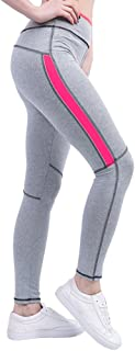 KINDOYO Women Plus Size Yoga Pants Sports Pants Fitness Elastic Leggings